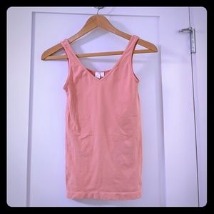 Anthropologie by Eloise, Coral Tank Top, Small